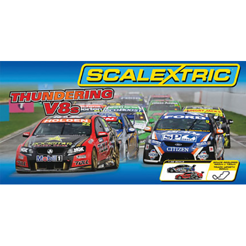 Scalextric Thundering V8s set