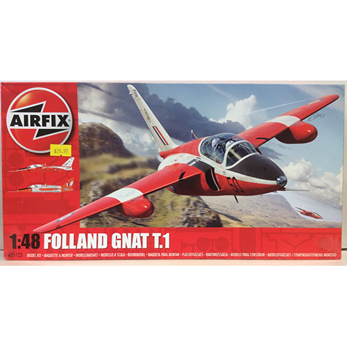 Airfix 1:48 scale Folland Gnat T.1