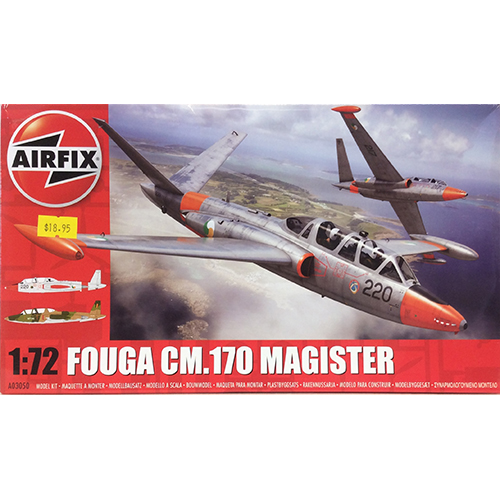 Airfix 1:72 Fouga CM.170 Magister.