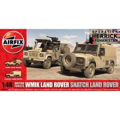 Airfix British Forces WMIK Land Rover - Snatch Land Rover 1:48