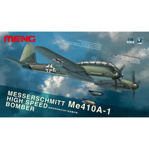 MENG MESSERSCHMITT Me410A-1 HIGH SPEED BOMBER 1:48