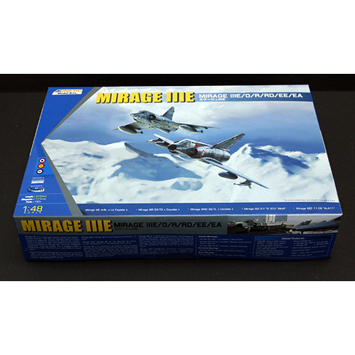 Kinetic 1/48 Mirage IIIE/O/R/RD/EE/EA
