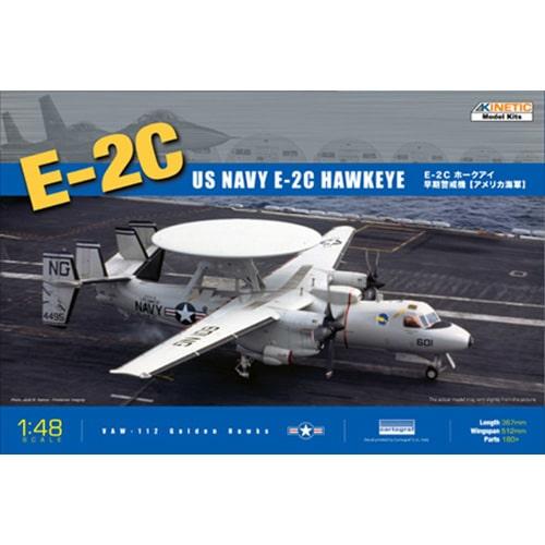 Kinetic 1/48 US Navy E-2C Hawkeye