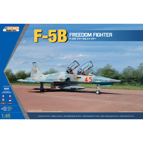 Kinetic 1/48 F-5B Freedom Fighter
