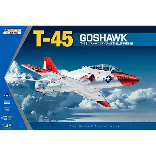 Kinetic 1/48 T-45 Navy Trainer Jet