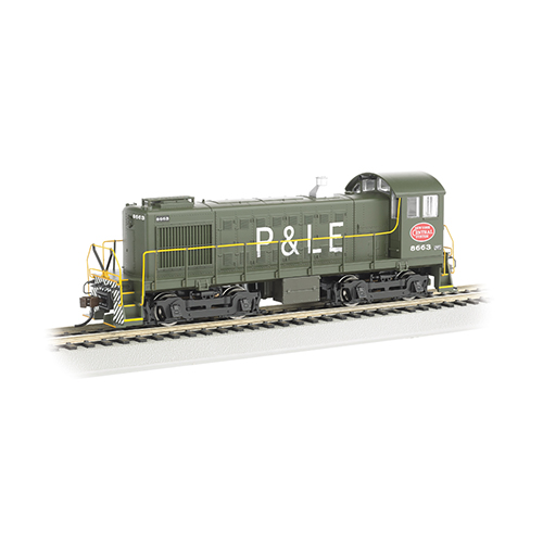 Bachmann NYC System P & LE #8663- ALCO S4 - DCC Sound