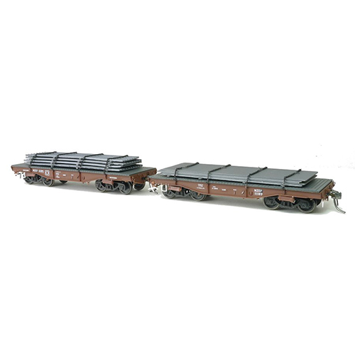 SDS TE Wagon With Steel Load