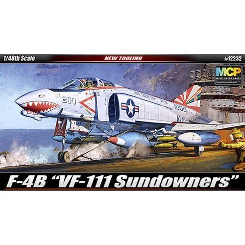 Academy 1/48 F-4B Phantom II 'VF-111 Sundowners' Kit