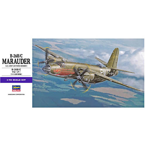 Hasegawa 1/72 B-26B/C Marauder Kit