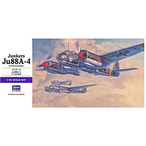 Hasegawa 1/72 Junkers Ju88A-4 Kit