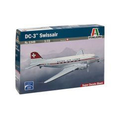 Italeri DC - 3 Swissair 1:72 Kit