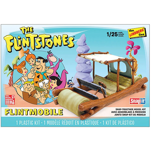 "Snap It The Flintstones ""Flintmobile"" Kit"