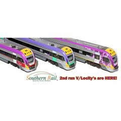 2nd Run Southern Rail Vlocity 3 Car Set