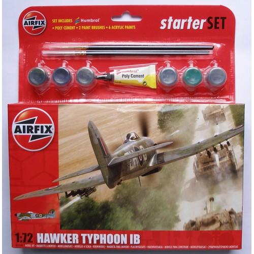 Airfix Hawker Typhoon IB - Starter Set