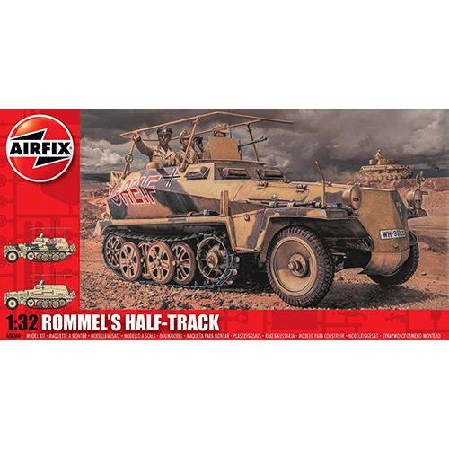 Airfix Rommel's Half Track 1:32