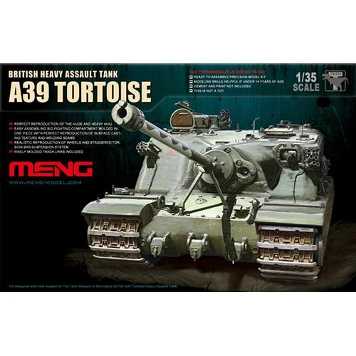 MENG BRITISH HEAVY ASSAUT TANK A39 TORTOISE 1/35