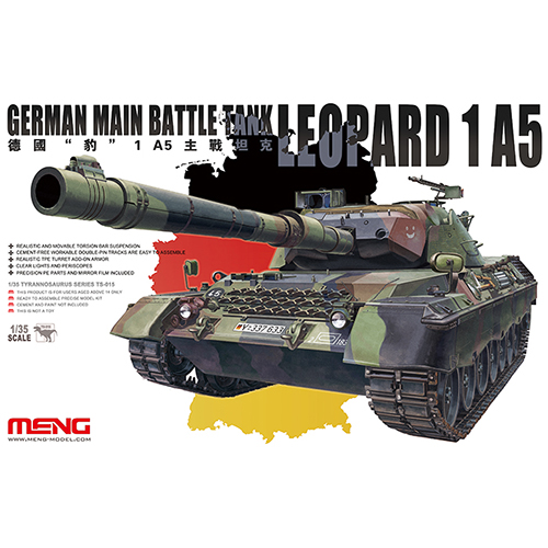 MENG GERMAN MAIN BATTLE TANK LEOPARD 1 A5 1/35