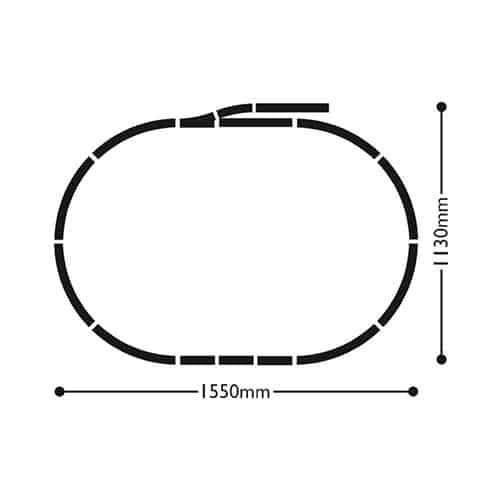 Hornby Somerset Belle Digital Train Set