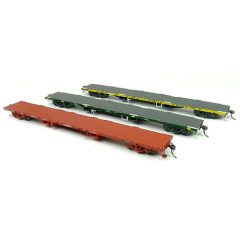 SDS VICTORIAN RAILWAYS  FQX 63' CONTAINER WAGON