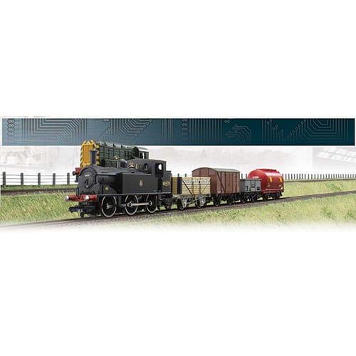 Hornby Mixed Freight Digital Train Set