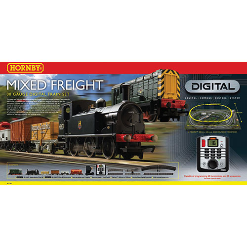 Hornby Mixed Freight Digital Train Set
