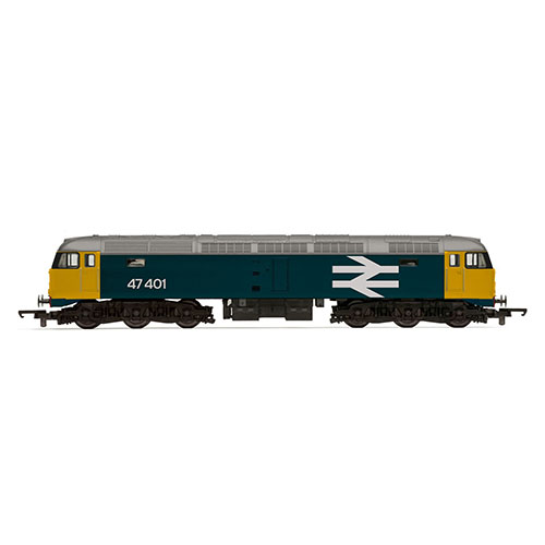 Hornby RailRoad BR Class 47 with TTS Sound