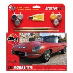 Airfix Jaguar E-Type Starter Set 1:32