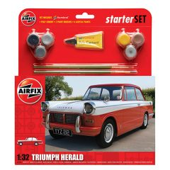 Airfix Triumph Herald Starter Set 1:32