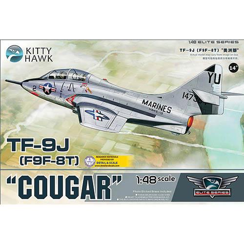 Kittyhawk 1/48 TF-9J (F9F-8T) Cougar Kit