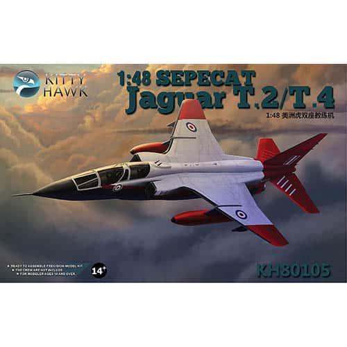 Kittyhawk 1/48 Sepecat Jaguar T.2/T.4 Kit