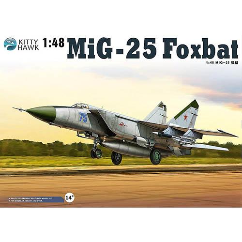 Kittyhawk 1/48 MiG-25 PD/PDS Foxbat