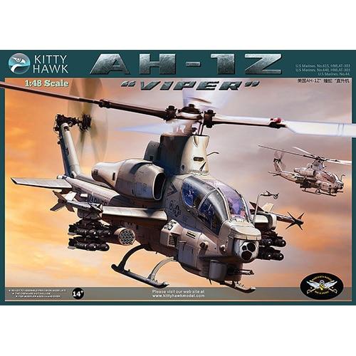 "Kittyhawk 1/48 KH80125 AH-1Z ""Viper"" Kit"