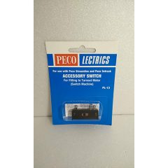 Peco PL-13 Accessory Switch, for fitting to turnout motor PL-10