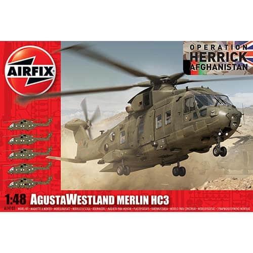 Airfix AgustaWestland Merlin HC3 1:48 - A14101