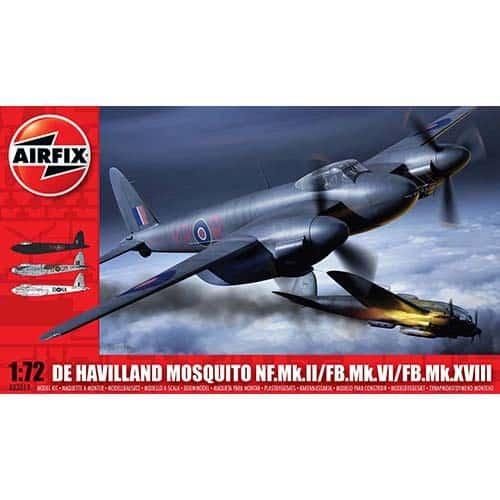 Airfix De Havilland Mosquito MkII/VI/XVIII 1:72 - A03019