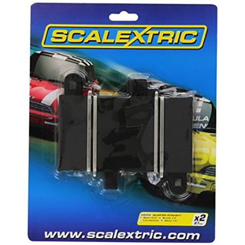 Scalextric Quarter Straight 87 mm x 2