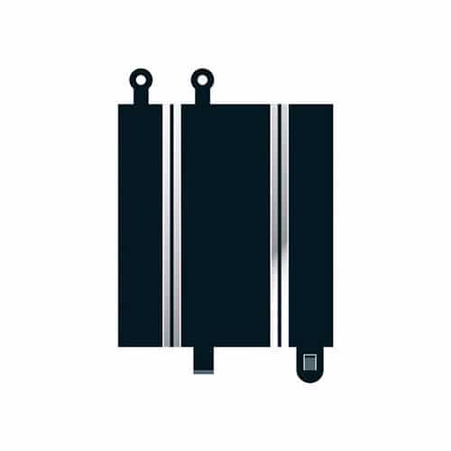 Scalextric Converter Straight x 2