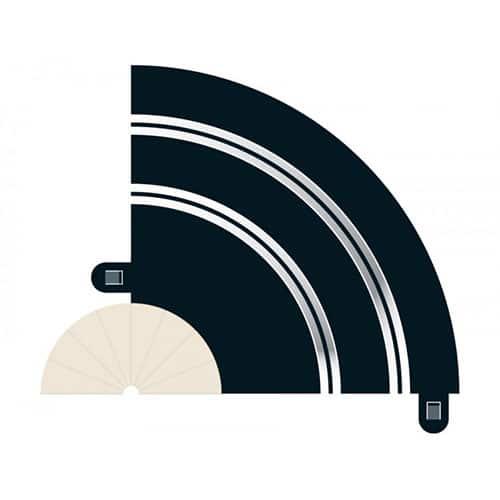 Scalextric Radius 1 Hairpin Curve 90° x 2