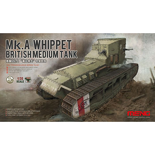 MENG British Medium Tank Mk.A Whippet 1/35 Kit