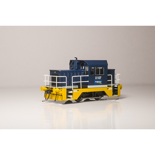 X107 Freight Rail Blue - X200-9