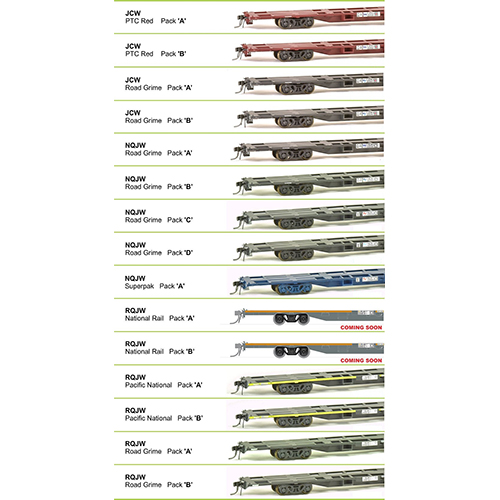 SDS 80' Container Wagon Packs