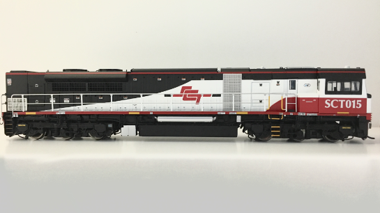 RAILMOTOR MODELS SCT LOGISTICS LOCO HO Scale