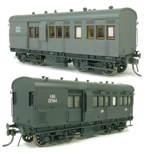 SDS Models 30' Goods Brake Van  LHG / SHG / BHG Single Pack