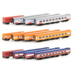 Auscision N Passenger Car Set