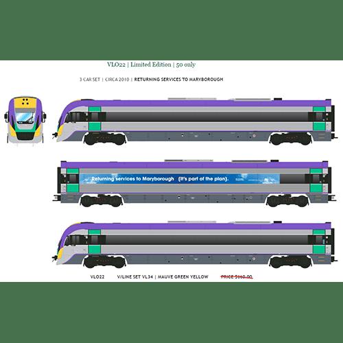 2nd Run Southern Rail Vlocity 3 Car Set