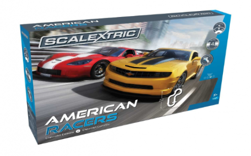 SCALEXTRIC AMERICAN RACERS SLOT CAT SET