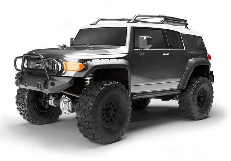 HPI Venture Toyota FJ Cruiser Rock Crawler RTR, 1/10, Gunmetal Grey